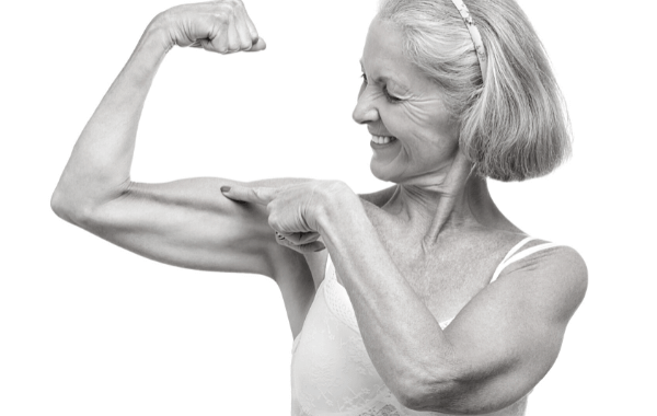 Woman muscles